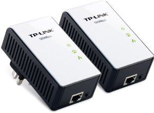 TP-Link TL-PA511KIT 500 Mbps Gigabit Powerline Adapter - Twin Pack from TP-Link - Computer Mods UK