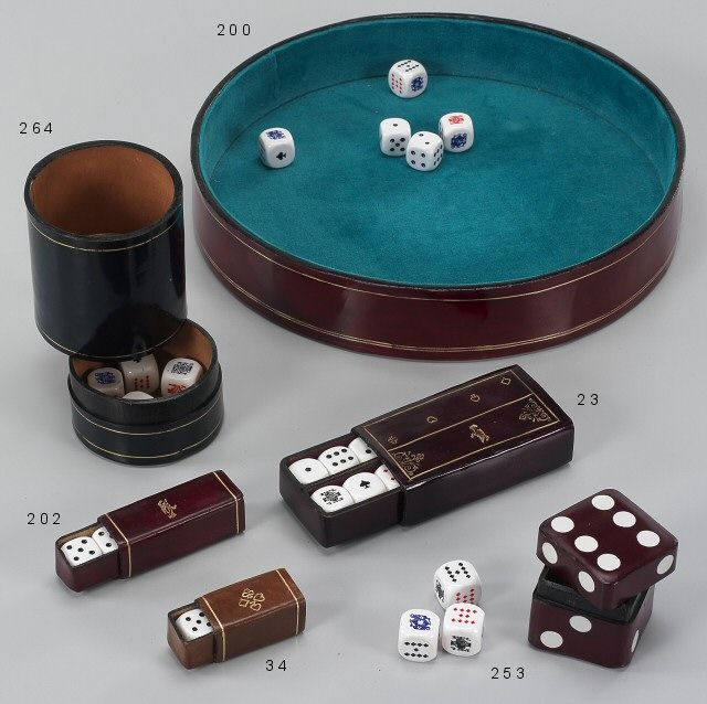 #Luxury Leather Playing tray - #dice accessories