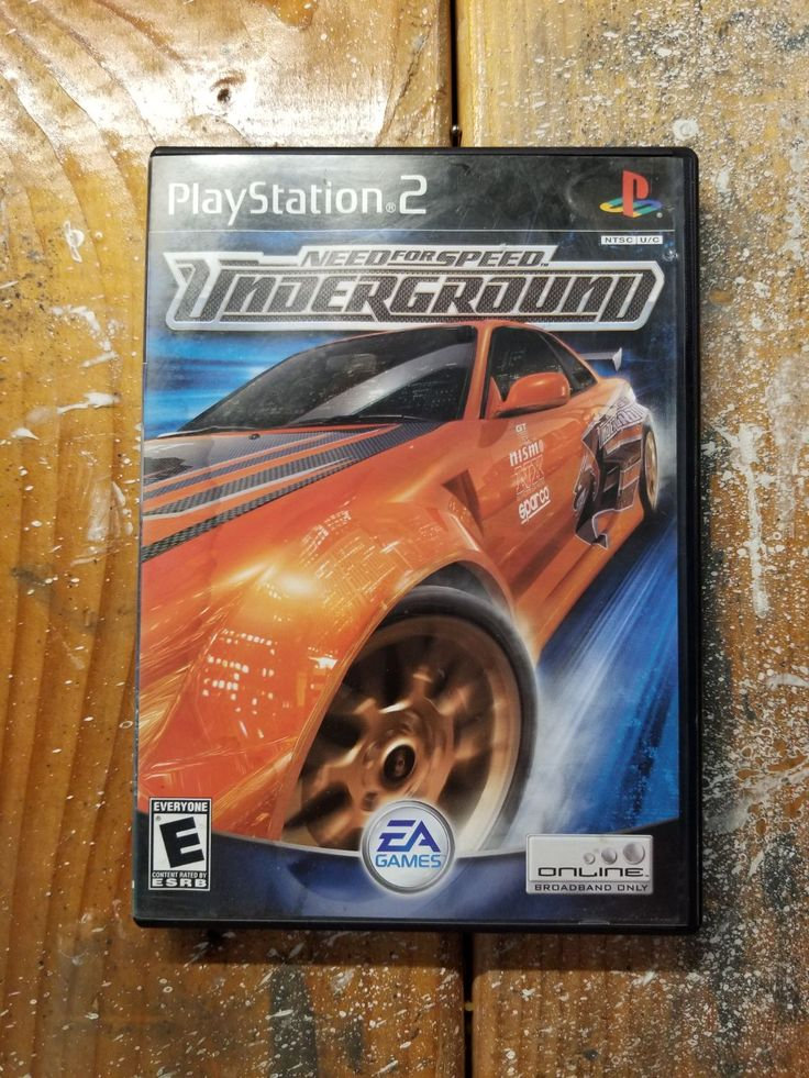 Need for Speed UnderCover PS2 Map