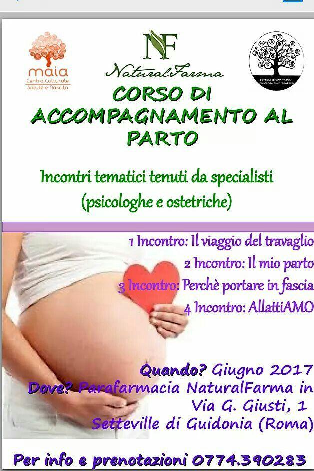 """Nuovo corso di accompagnamento al parto, con uno sguardo al """"dopo"""", tenuto da ostetriche e psicologhe esperte. Vi aspettiamo numerosi mamme e papà :)"""