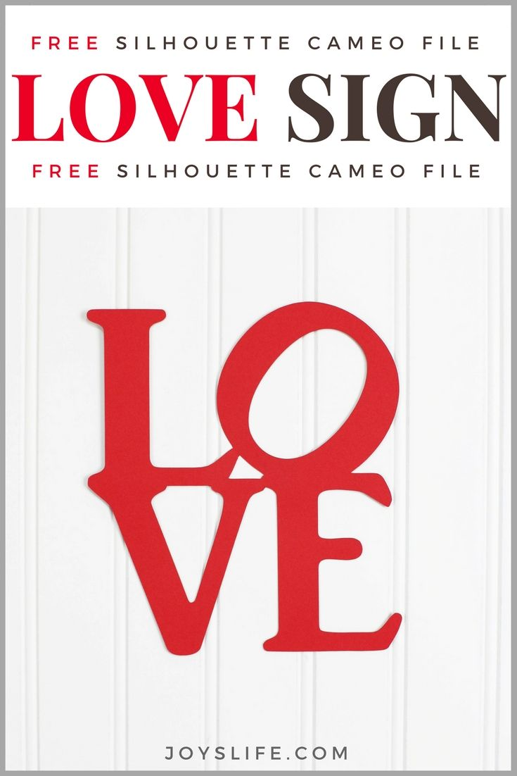 Get ready for Valentine's Day with this Free Silhouette Cameo file! #silhouettecameo #valentine #valentinesday #svg #studiofile #love #silhouettecameo3 #freesvg