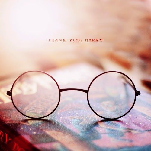 ...for helping to shape my childhood, for encouraging my imagination, for taking me away to your world, for those long summer days on the swing, for the cold winter nights tucked into bed, for showing me magic in everyday life. I can never repay you for all you've done, so I will simply say: Thank You Harry. <3