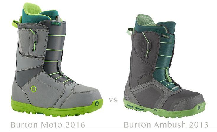 Burton Moto 2016 vc Burton Ambush 2013 #burton #ботинки_burton #burton_moto #burton_ambush #ботинки_для_сноуборда