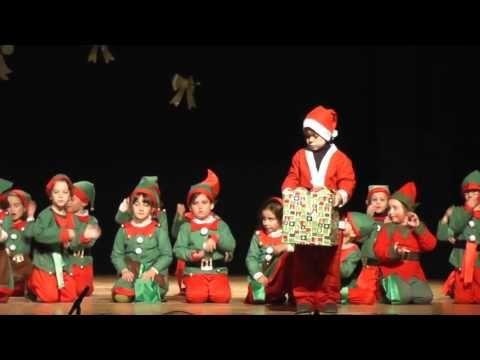 """VILLANCICO:""""LA FABRICA DE SANTA CLAUS"""" - YouTube"""