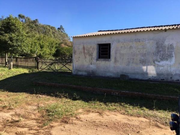 R-277 Chácara de 1 hectare com salão p/ comércio, casa e galpão na Sanga Funda/ Canguçu