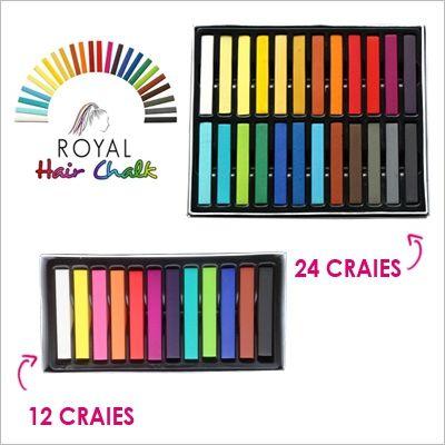 Royal Hair Chalk - Craies pour cheveux - Royal Extension