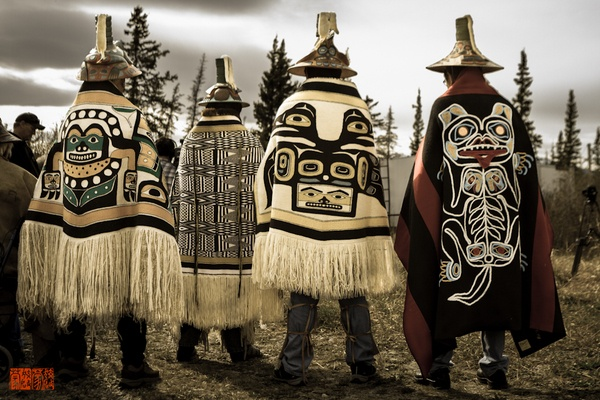 Powerful Chiefs! #tlingit #yukon