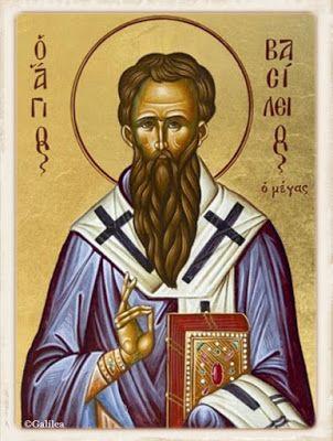 Santa María, Madre de Dios y Madre nuestra: San Basilio Magno. 14 de Junio