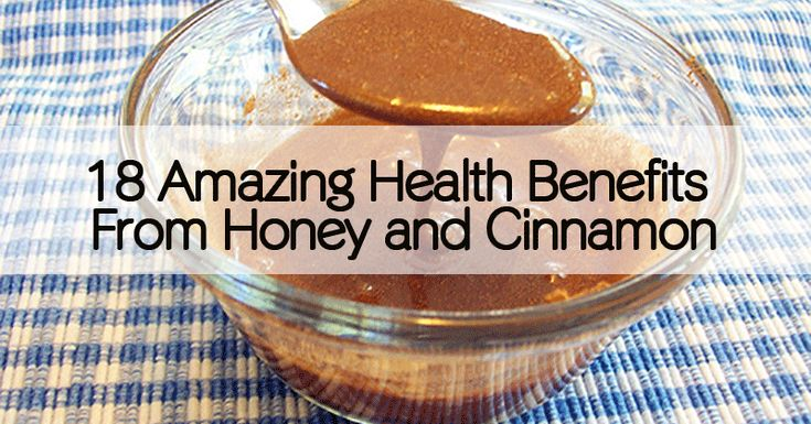 18 Health Benefits from Honey & Cinnamon