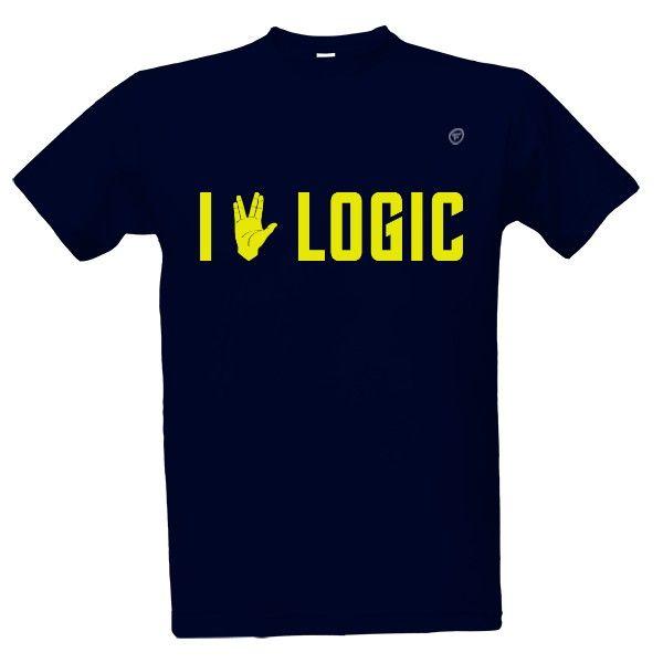 i love, logic, spock, star trek