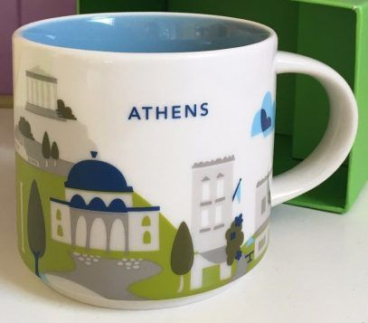 You Are Here – Athens – Starbucks Mugs