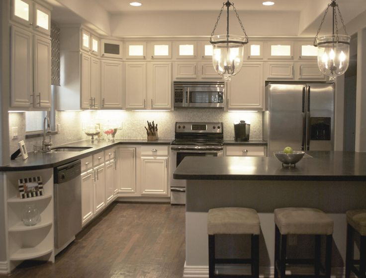 1000 ideas about kitchen island lighting on pinterest for Small lamps for kitchen counters
