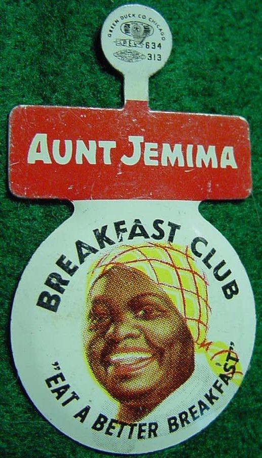 Aunt Jemima Breakfast Club sign