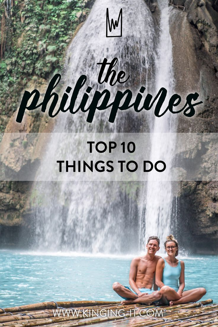Top 10 things to do in The Philippines - from canyoneering in Cebu to Whale shark swimming in Donsol.