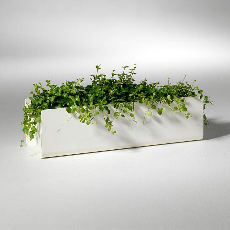 Jorda+Blomsterkasse+60cm,+Hvit,+SMD+Design