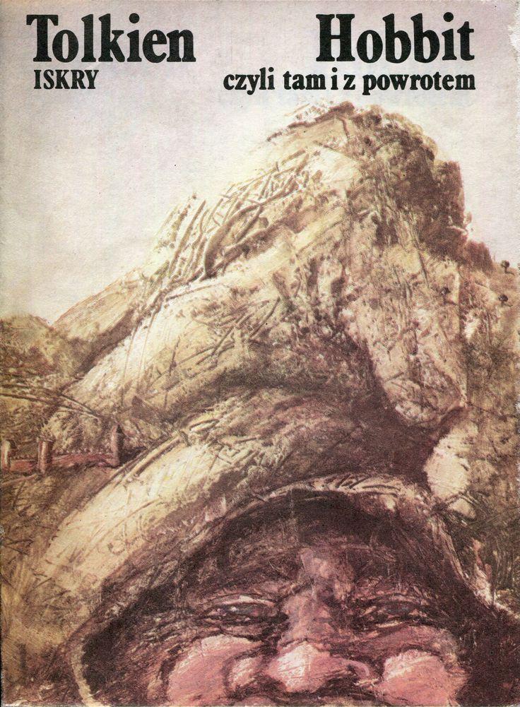 """""""Hobbit czyli tam i z powrotem"""" (The Hobbit, or There and Back Again) J.R.R. Tolkien Translated by Maria Skibniewska Poems translated by Włodzimierz Lewik Cover by Maciej Buszewicz Published by Wydawnictwo Iskry 1988"""