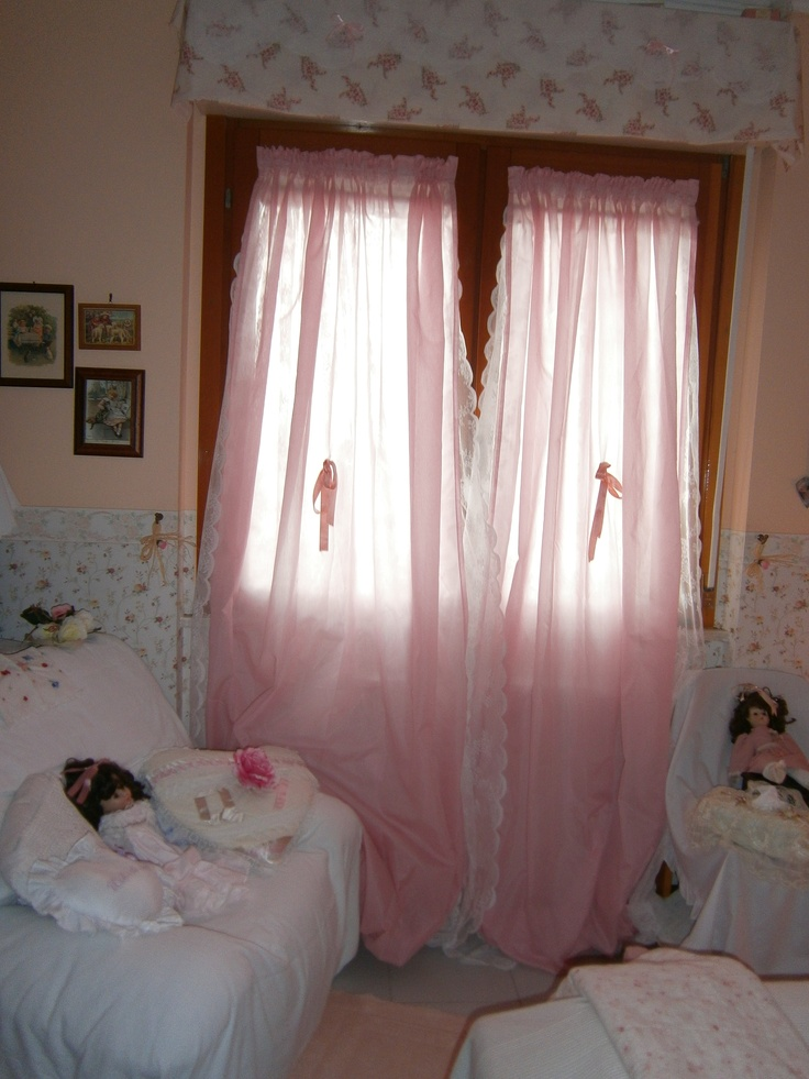 le tende rosa