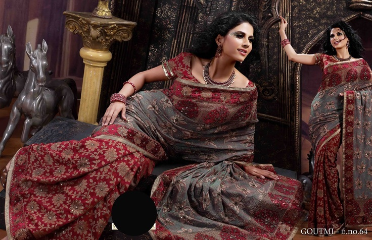 Royal Sarees For Your Royal Partners  Shop Online @ http://jugniji.com/sarees/royal-sarees/royal-sarees-1444.html
