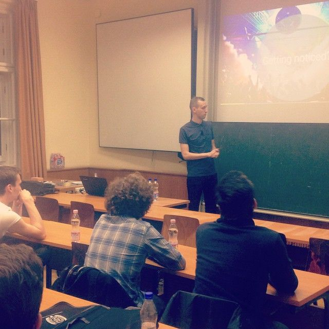 #WeSpin #Budapest happened! Loved the audience, will keep in touch with everyone who attended :)