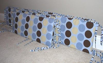 Bumper Pads Tutorial with Piping instructions