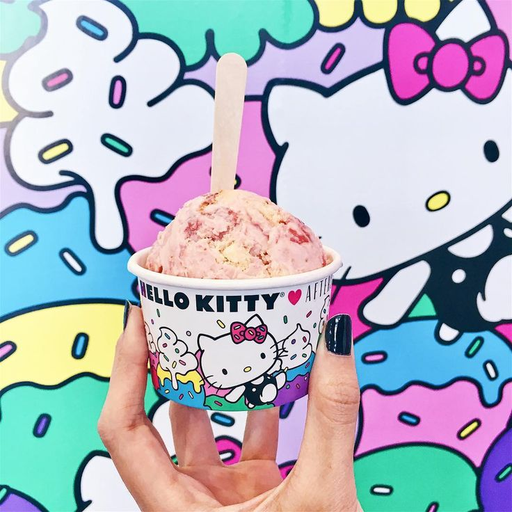 Hello Kitty Ice Cream Shop Opens With Afters Ice Cream in California