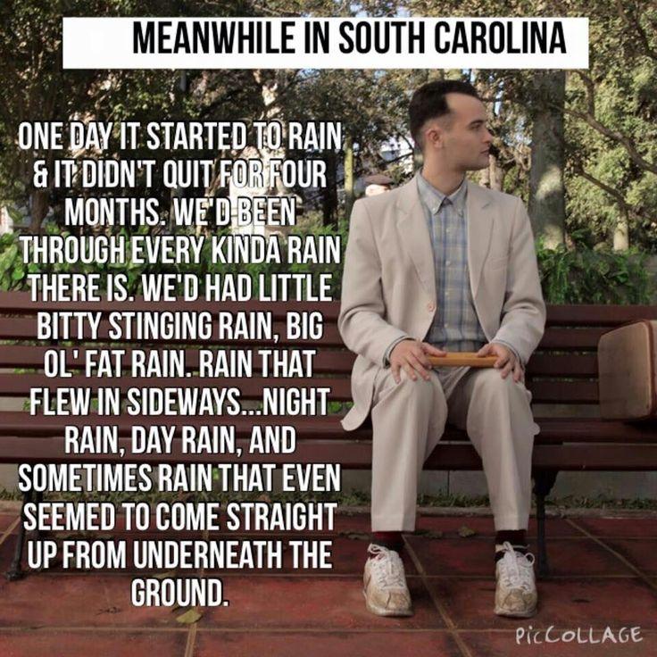 Memes Meanwhile Rain South Carolina