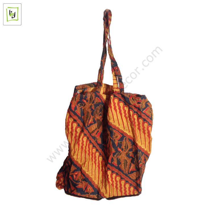 Natural Batik Bag by #balisawahdecor
