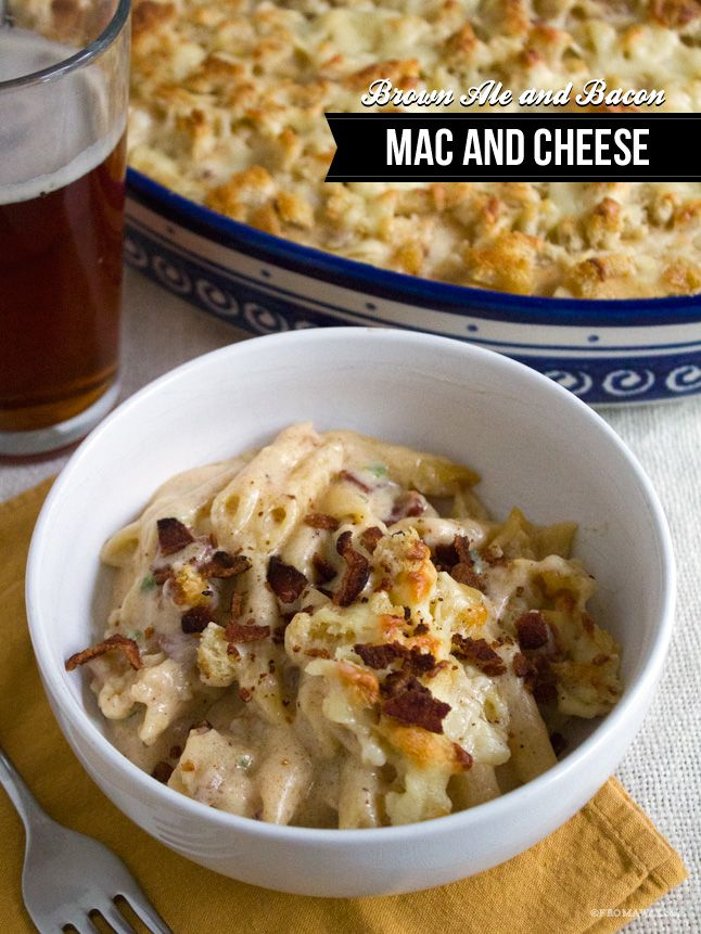 Bacon And Cheddar Macaroni & Cheese Recipe — Dishmaps