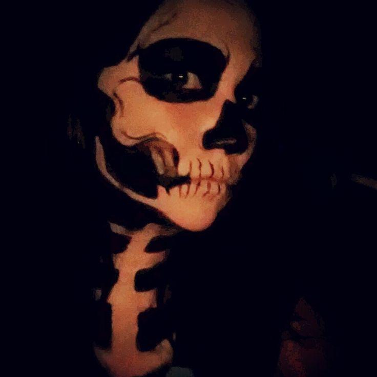 Grim Reaper makeup - Google zoeken