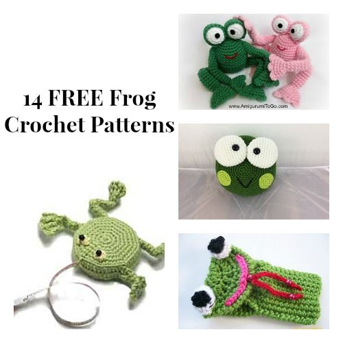 Free Frog Knitting Pattern : The 16 best images about Free Frog Crochet Patterns on Pinterest Free patte...