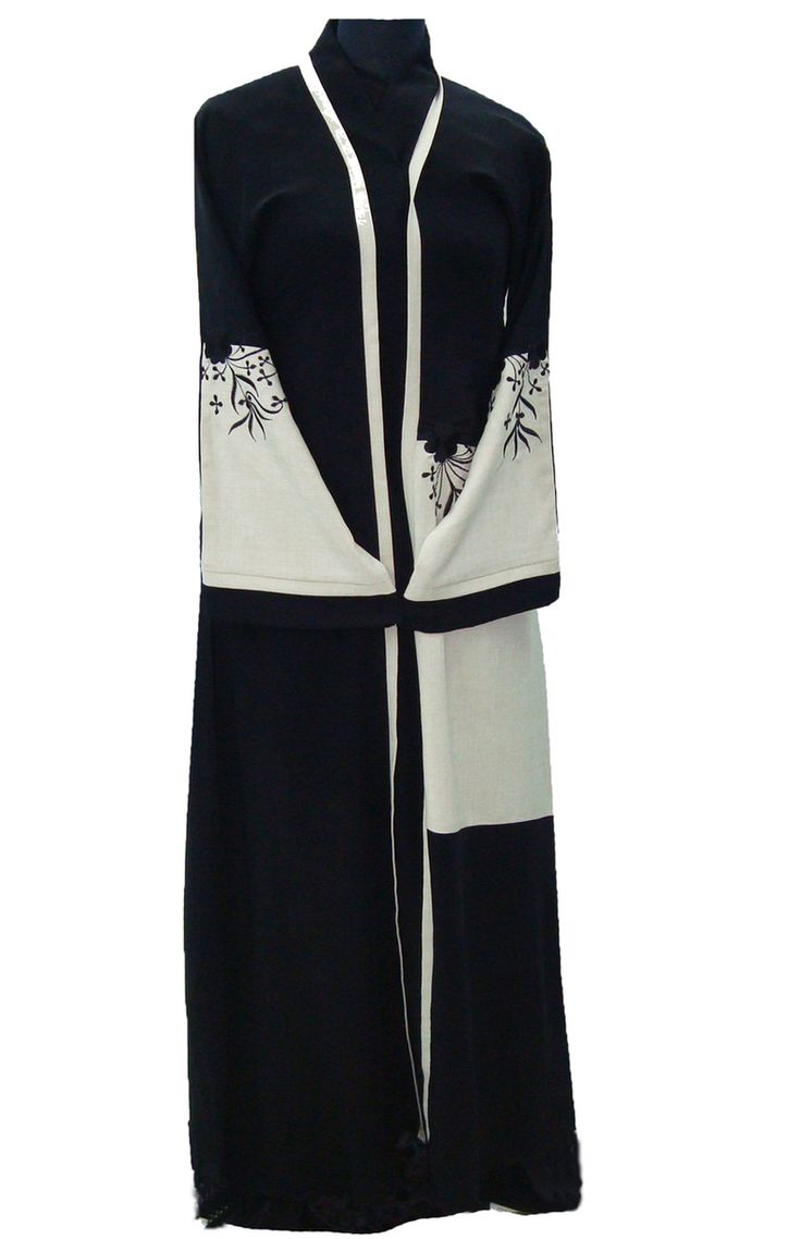 Hayaa Clothing - LINEN embroidered front Stylish Dubai Abaya , $79.99 (http://www.hayaaclothing.com/linen-embroidered-front-stylish-dubai-abaya/)