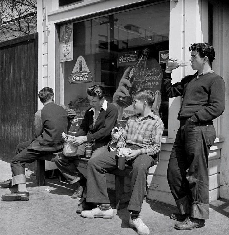 High school boys from Oakland, California, May 4, 1940