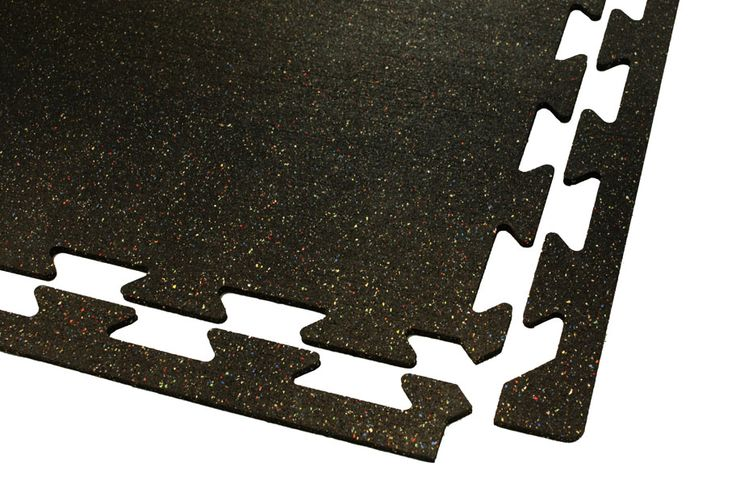 Regrind Recycled Rubber Tiles - Athletic Flooring