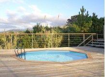 17 meilleures id es propos de liner piscine hors sol sur pinterest filtra - Margelle piscine castorama ...