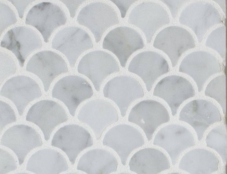 curve appeal carrara fan shape2 Mission Stone Tile Your Tile & Stone Source for Styleaholics Now in Chattanooga, TN.
