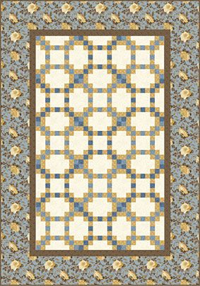 The Garden Gate Quilt Pattern Is Free To Download At