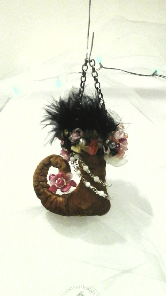 Cyber Monday Christmas Holiday Ornament Shoe by CinfulDesigns