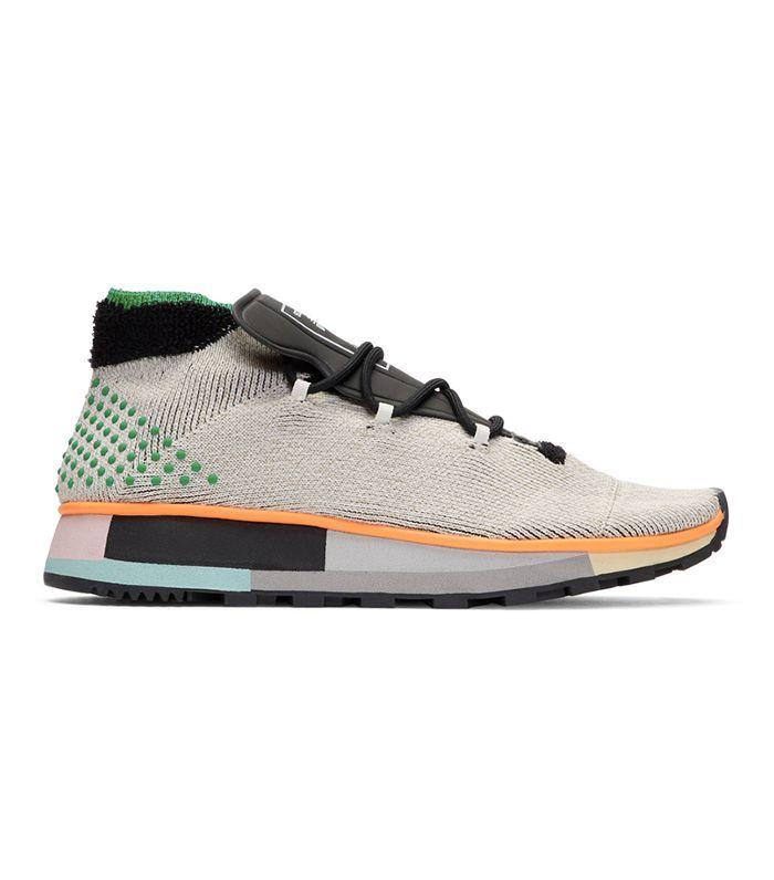 Grey AW Run Mid Sneakers