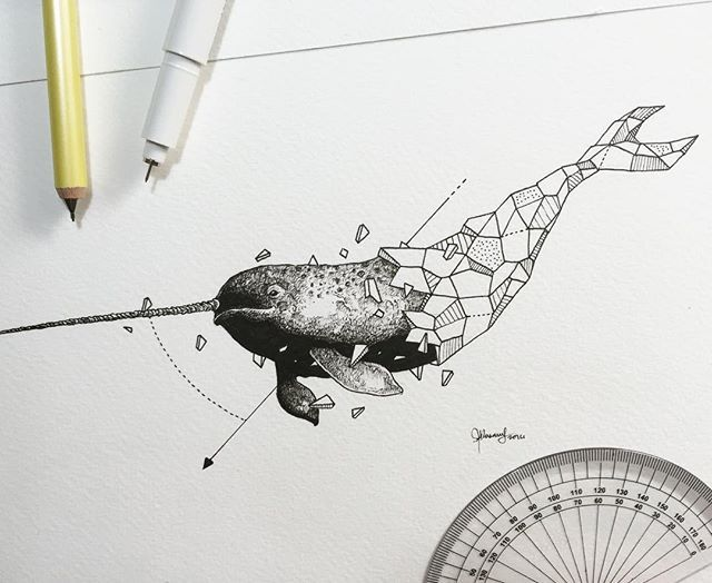 Geometric Beasts | Narwhal                                                                                                                                                                                 More