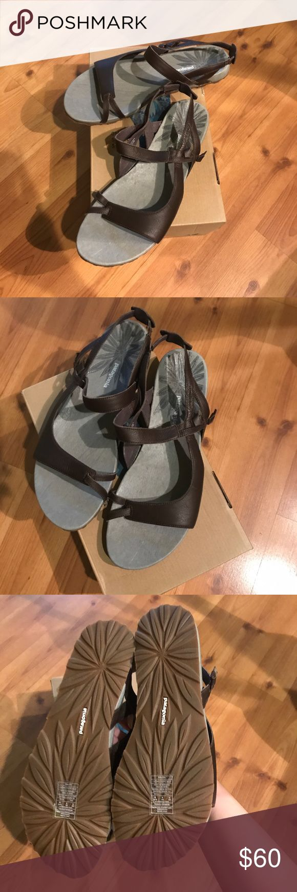 FINAL PRICE NWT Patagonia poly knotty sandals Brand new brown sandals by Patagonia. Absolutely comfortable and cute perfect for summer for casual or active days! Patagonia Shoes Sandals