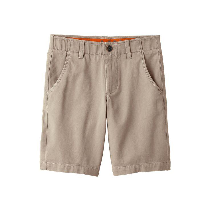 Boys 8-20 Urban Pipeline® MaxFlex Flat-Front Shorts, Boy's, Size: 16, Lt Beige