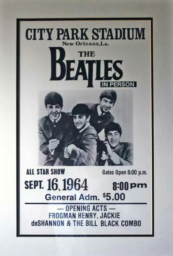 The Beatles 16/09/1964 New Orleans