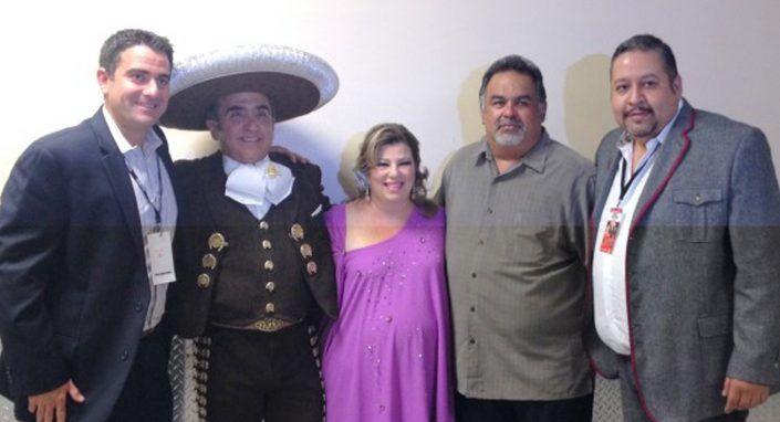 Margarita la Diosa de la Cumbia & Vicente Fernandez Jr. Headline