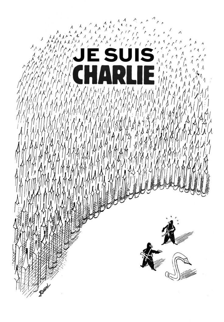 Je suis Charlie - Glénat BD #jesuischarlie #charlieHebdo