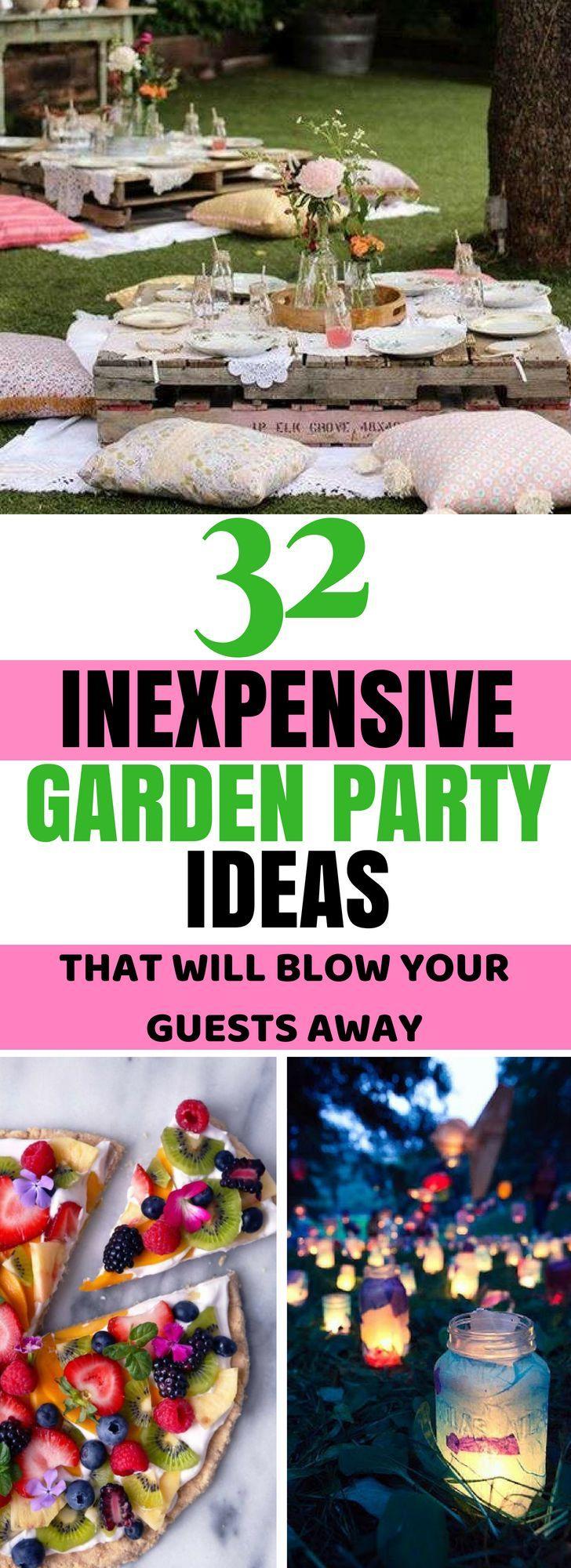 32 Ideen für die beste Gartenparty (mit Bildern), die Sie 2019 nicht verpassen werden …