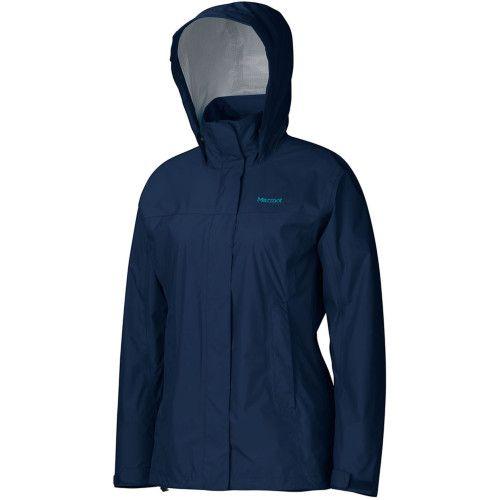 Packable lightweight rain jacket