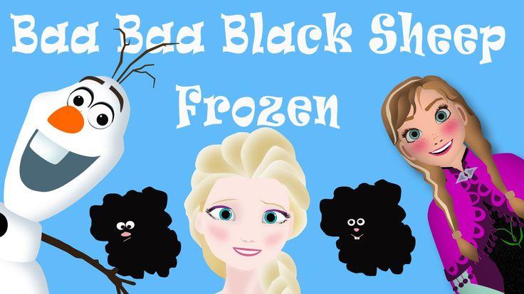 Frozen- Baa Baa Black Sheep Parody