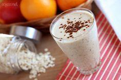 Pożywny koktajl śniadaniowy | Zdrowe przepisy Pauliny Styś
