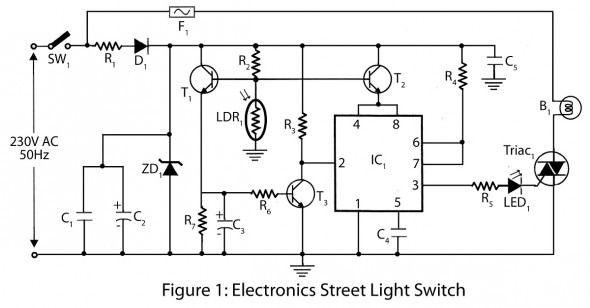 Light Switch Circuit Di 2020  Dengan Gambar
