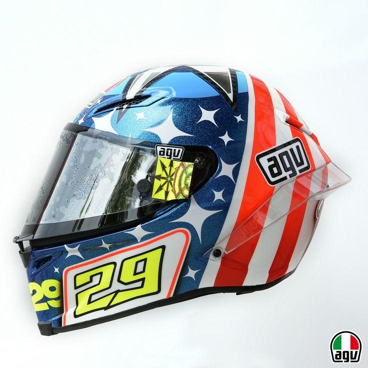 Andrea Iannone AGV Pista GP for Indianapolis 2013